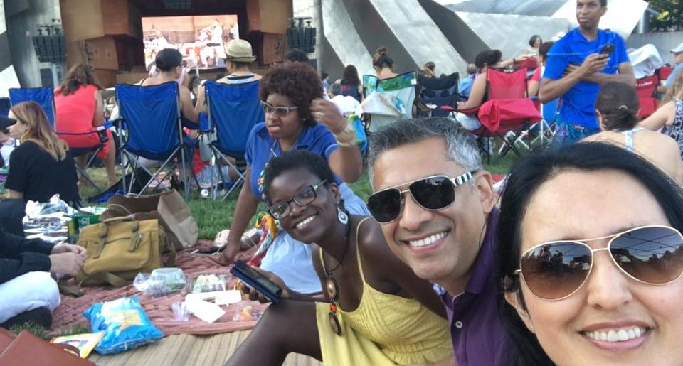 Unieros Picnic Photos: Puerto Rico and Colombia Food and Music