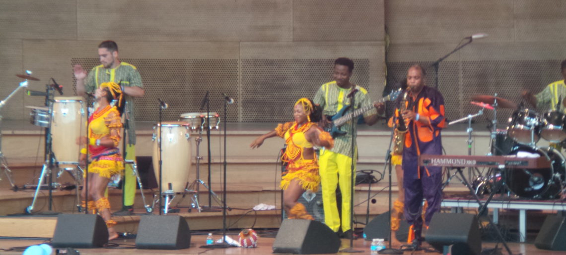Unieros Picnic Photos: Femi Kuti and The Positive Force