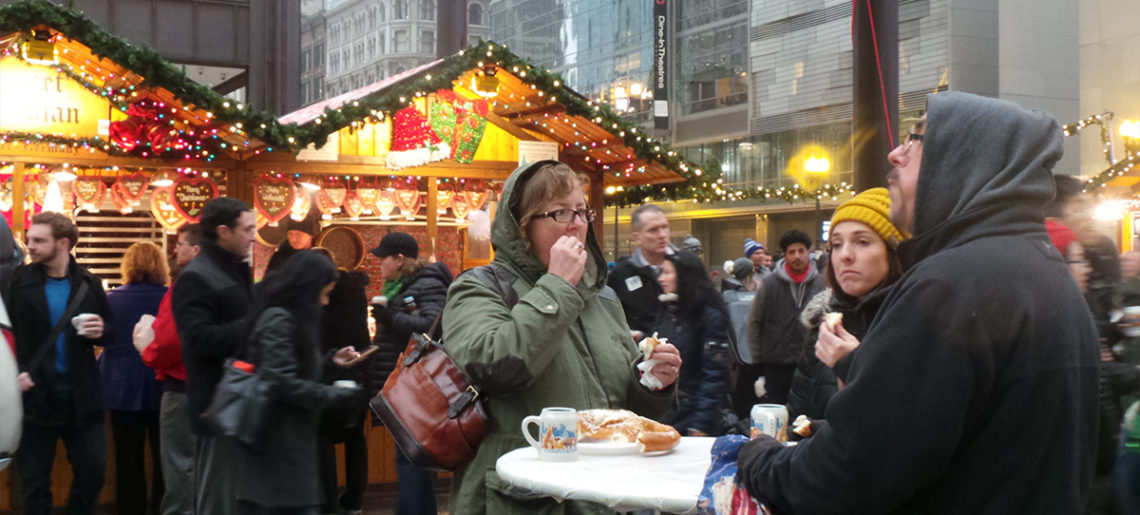 German Culture Christkindl Holiday Market